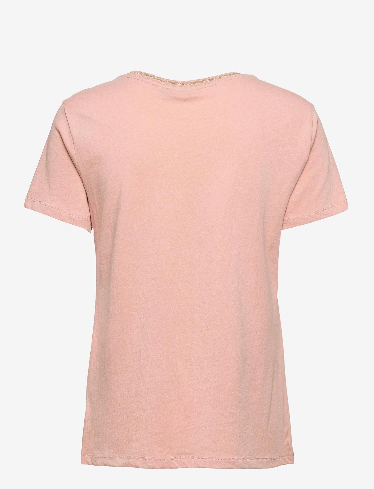 Fransa - FRVEKAM 2 T-shirt - t-shirts - misty rose - 1