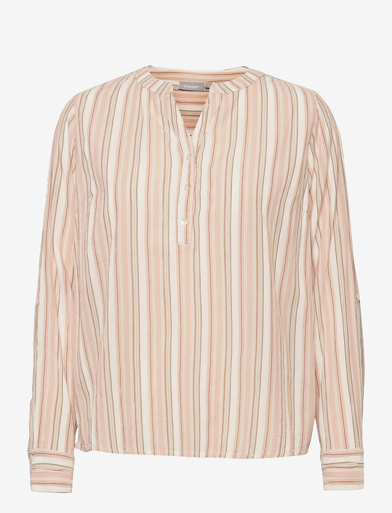 Fransa - FRVAVIS 2 Blouse - blouses met lange mouwen - misty rose mix - 0