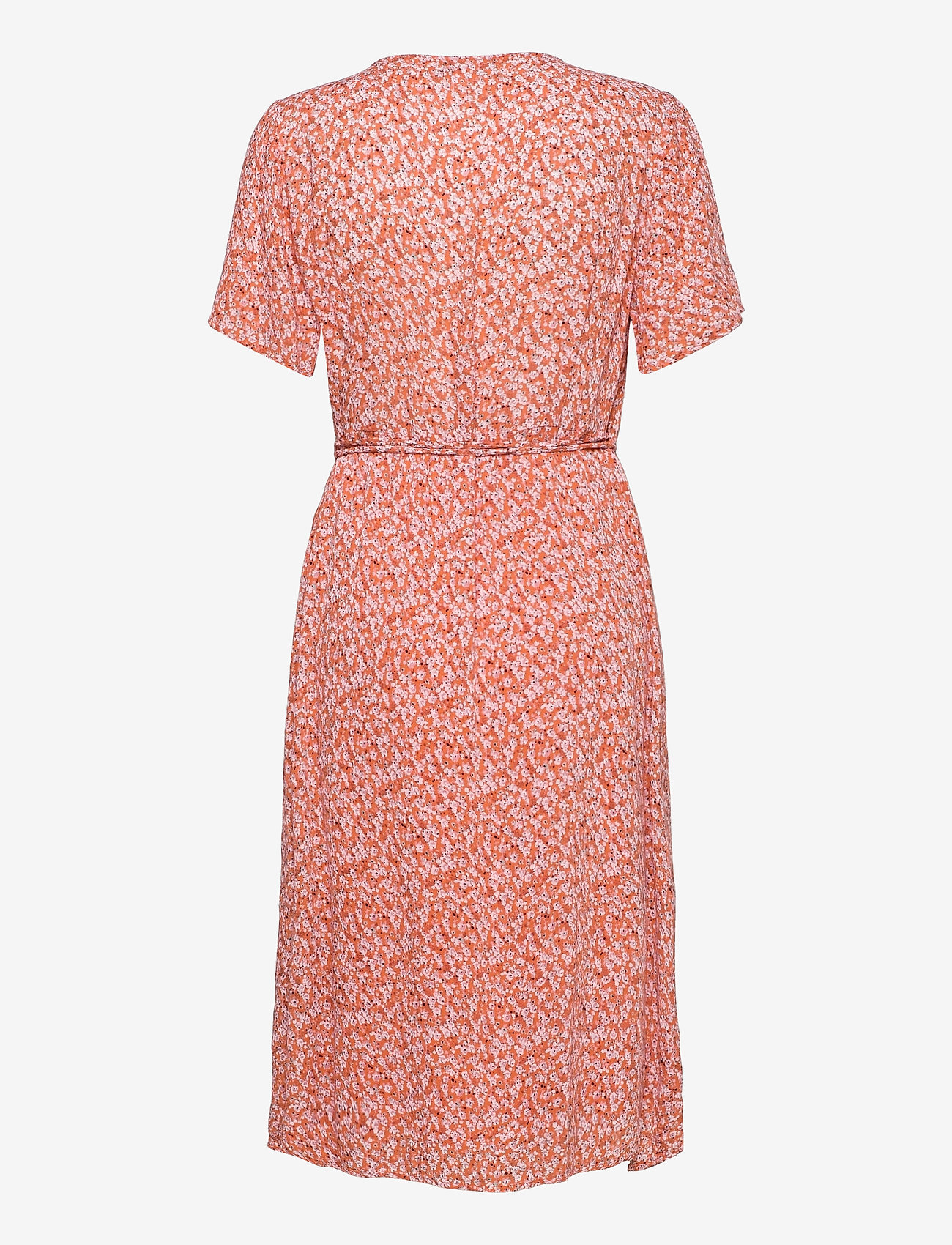 Fransa - FRALCRINKLE 2 Dress - dusty orange mix - 1