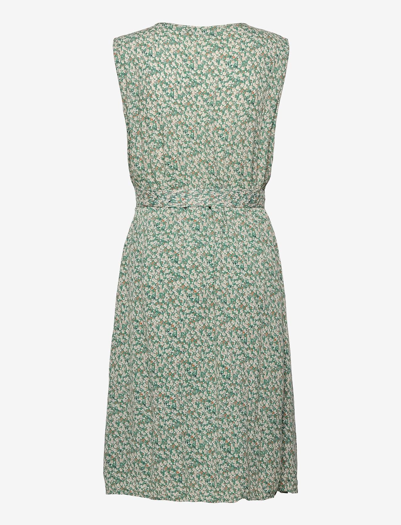 Fransa - FRALCRINKLE 3 Dress - zomerjurken - clover green mix - 1