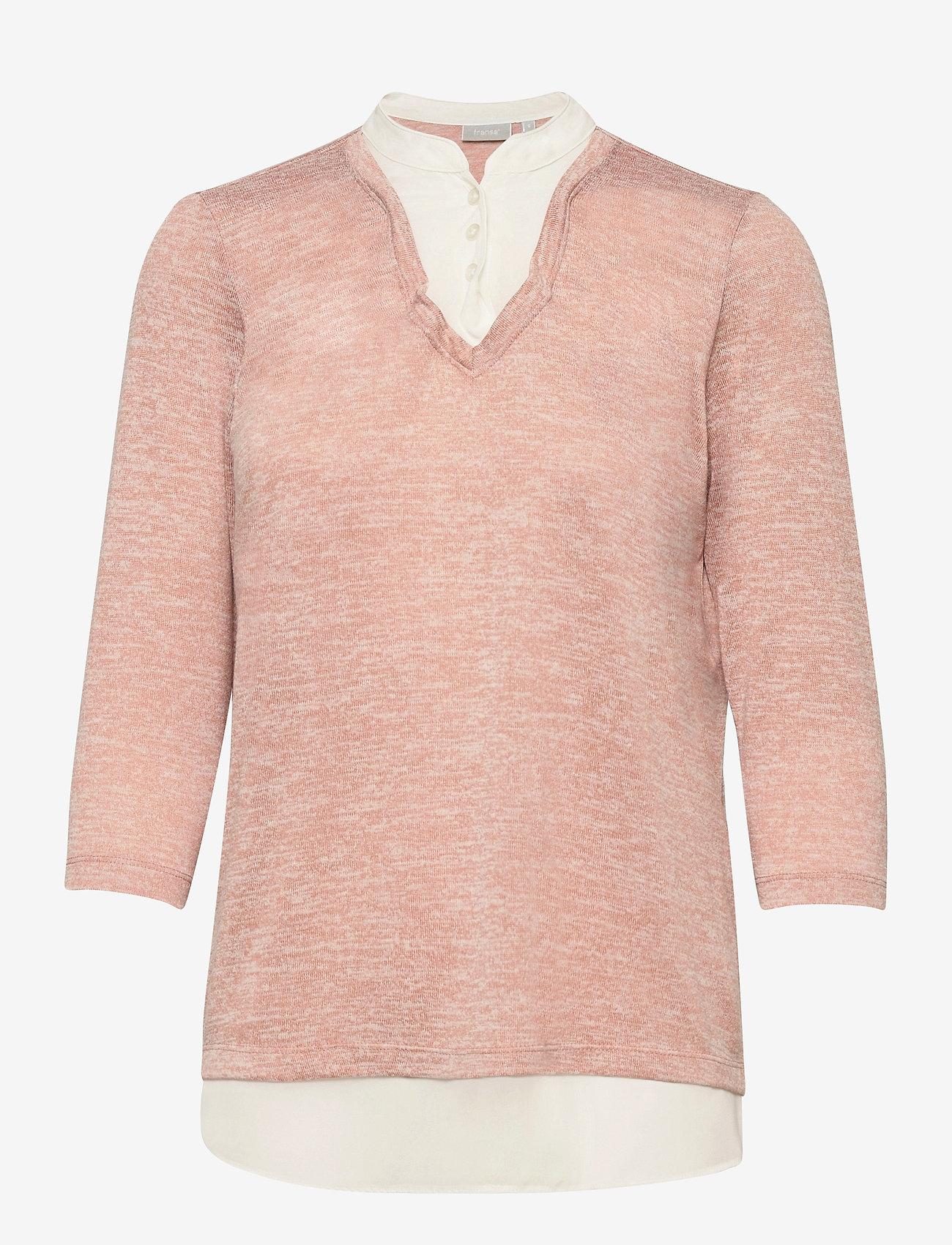 Fransa - FRVEREXAN 1 Pullover - truien - misty rose melange - 0
