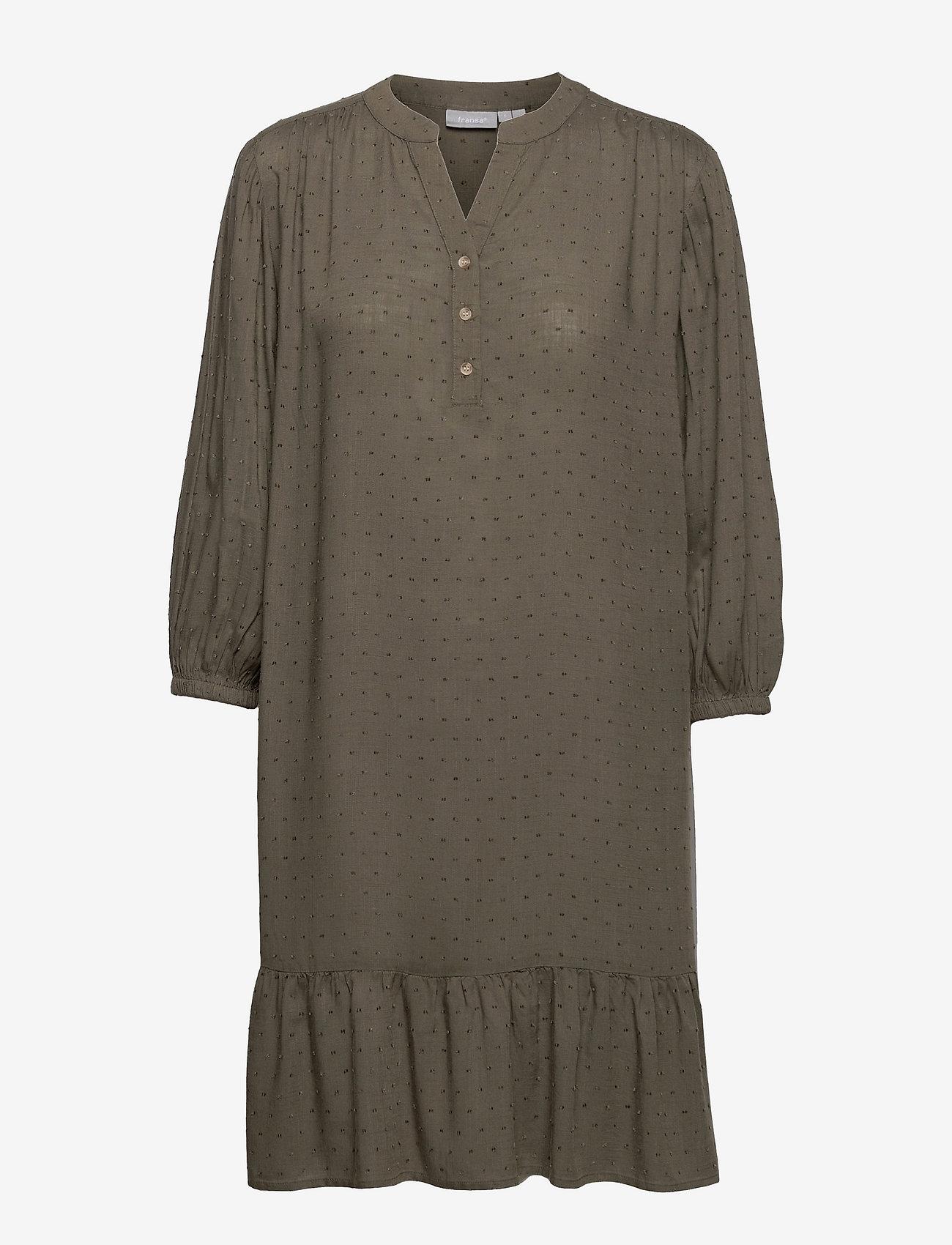 Fransa - FR BAJOY Tunic - alledaagse jurken - hedge - 0