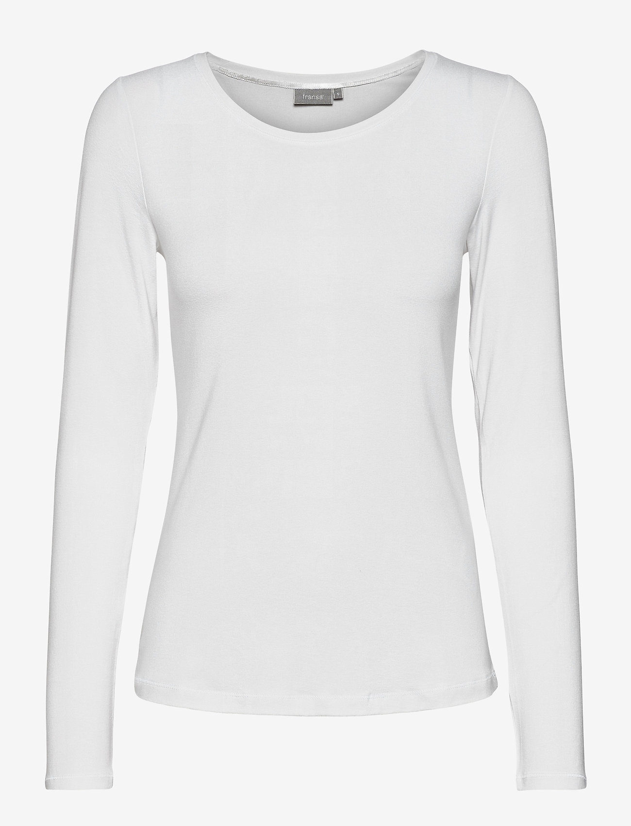 Fransa - Kasic 1 Tshirt - pitkähihaiset t-paidat - (noos) white - 0