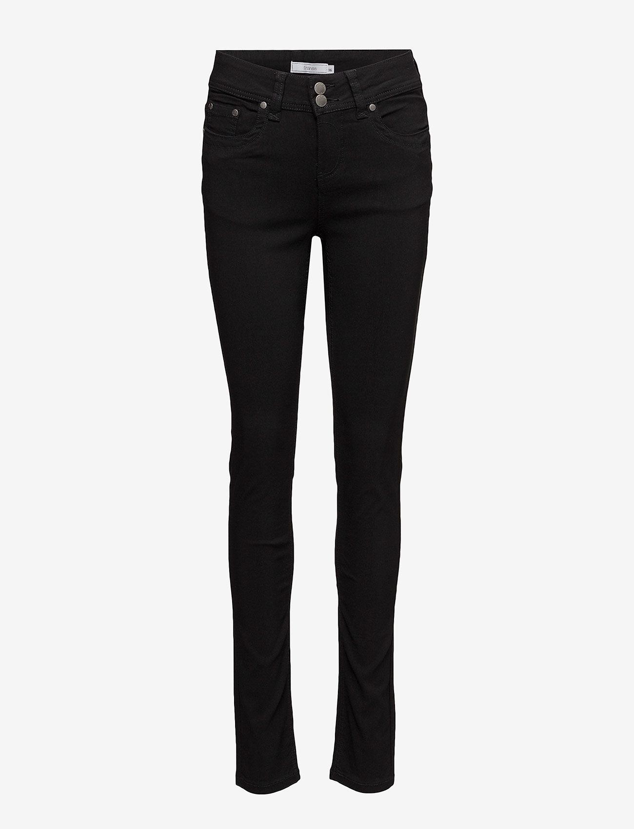 Fransa - Zalin 1 Pant - pillihousut - black - 0