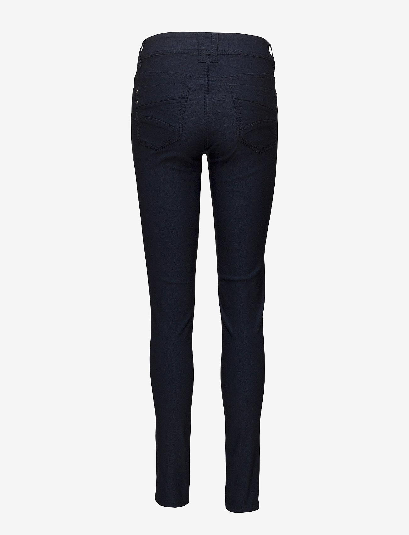 Fransa - Zalin 1 Pant - trousers with skinny legs - dark peacoat - 1