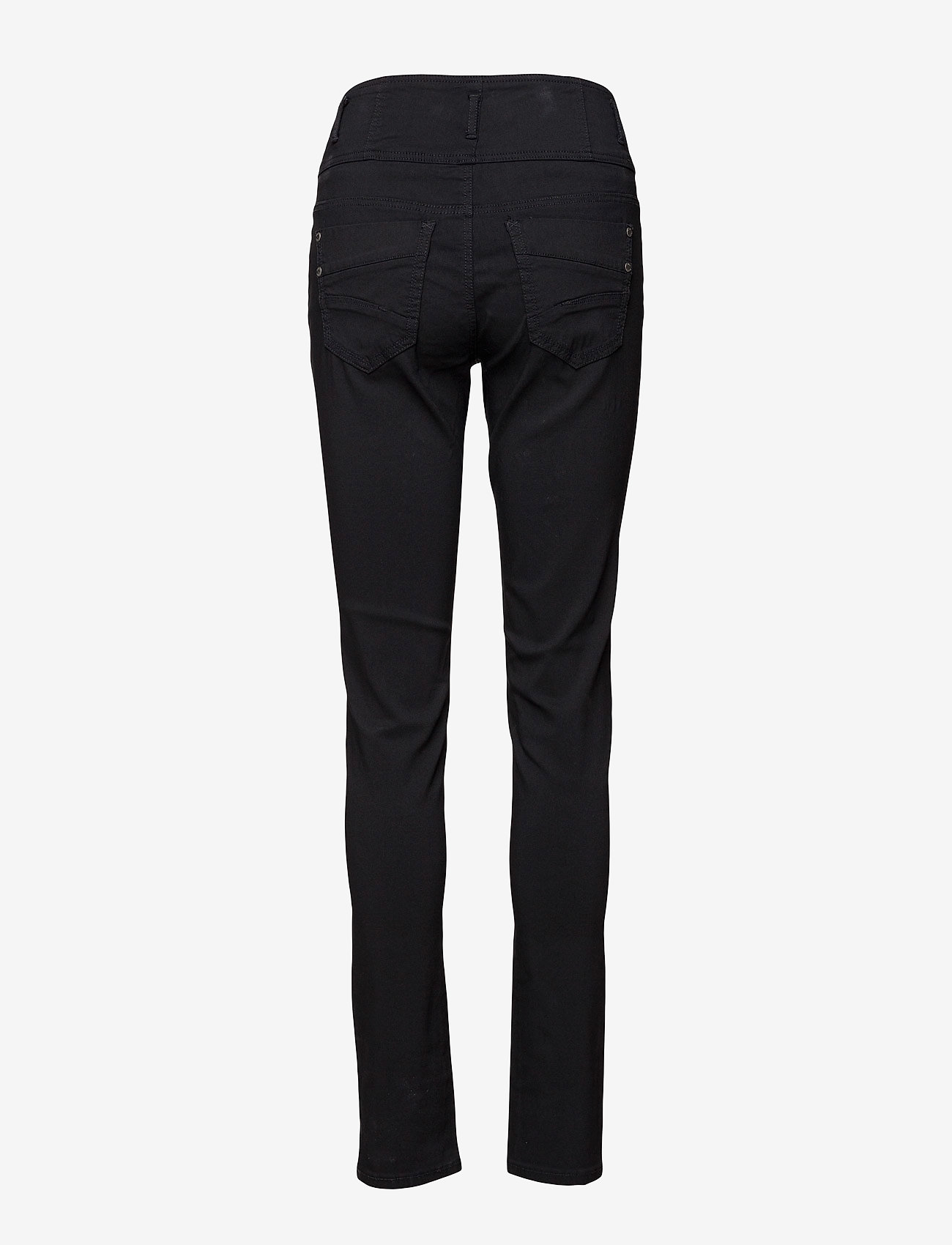Fransa - Zalin 2 Pant - trousers with skinny legs - black - 1
