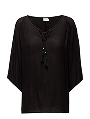 Cabutterfly 1 Blouse - BLACK