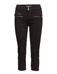 Zalin 10 Capri Pants - BLACK