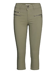 Zalin 10 Capri Pants - HEDGE
