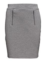 Fizip 2 Skirt - ASPHALT MELANGE