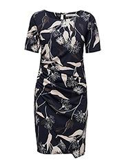 Giprint 1 Dress - BLACK IRIS MIX