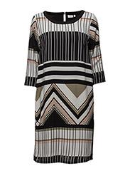Genoa 1 Dress - HEDGE MIX