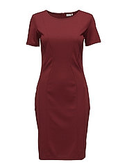 Imdart 2 Dress - RUBY WINE