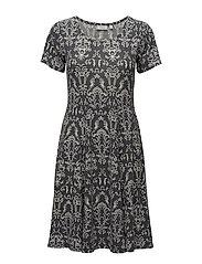 Imibidot 1 Dress - BLACK IRIS MIX