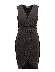 Licar 2 Dress - BLACK MIX