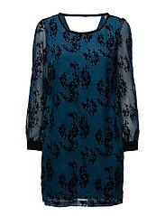 Lachiflock 1 Dress - PETROL DUST MIX