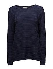 Zucot 4 Pullover - BLACK IRIS MELANGE
