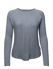 Miturned 1 Pullover - BRUNNERA BLUE MELANGE