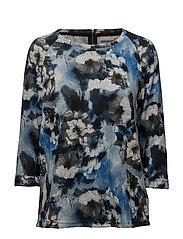 Jisoft 6 T-shirt - BLACK IRIS MIX
