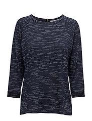 Jiwater 2 T-shirt - BLACK IRIS MELANGE