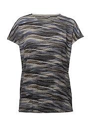 Miround 1 T-shirt - BRUNNERA BLUE MIX