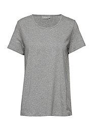 Zaganic 2 T-shirt Solid - ASPHALT MELANGE