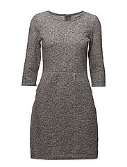 Nijacquard 1 Dress - LIGHT GREY MELANGE
