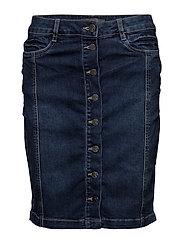 Nostitch 2 Skirt - SIMPLE BLUE DENIM