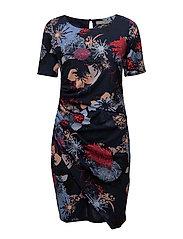 Miself 1 dress - BLACK IRIS MIX