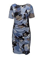 Miself 1 dress - BRUNNERA BLUE MIX