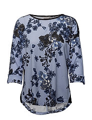 Misoflower 1 T-shirt - BRUNNERA BLUE MIX