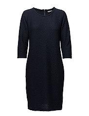 Mijaqi 2 Dress - BLACK IRIS