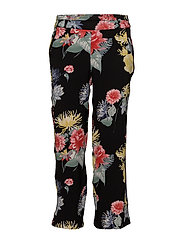 Osflower 3 Pants - BLACK MIX