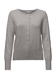 Zubasic 60 Cardigan - LIGHT GREY MELANGE