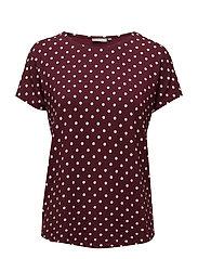 Pidotton 2 T-shirt - TAWNY PORT MIX