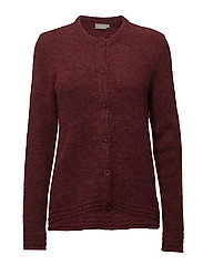 Pimella 3 Cardigan - CHINESE RED MELANGE