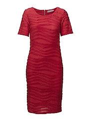 Pitine 1 Dress - CHINESE RED