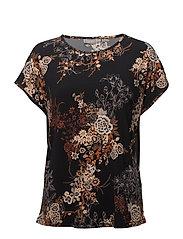 Piround 1 T-shirt - BLACK MIX
