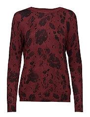 Zuvic 154 Pullover - TAWNY PORT MIX