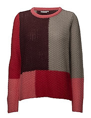 Pigan 2 Pullover - CHINESE RED MELANGE