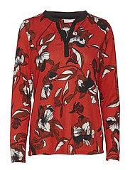 Reflower 1 T-shirt - AURA ORANGE MIX