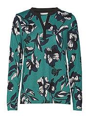 Reflower 1 T-shirt - QUETZAL GREEN MIX