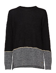 Really 3 Pullover - BLACK MIX