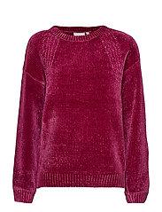 Renille 1 Pullover - FUCHSIA