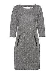Resalt 1 Dress - BLACK MELANGE