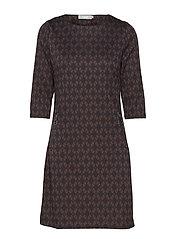 Tivar 1 Dress - BLACK IRIS MIX