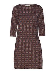 Tivar 1 Dress - DARK PEACOAT MIX