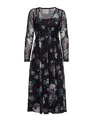 Rerose 1 Dress - BLACK MIX