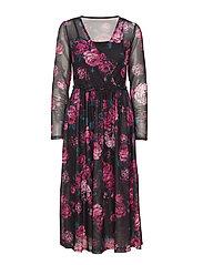 Rerose 1 Dress - FUCHSIA MIX