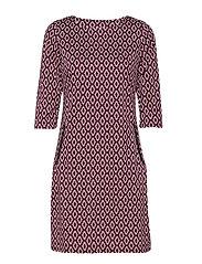 Revar 1 Dress - FUCHSIA MIX